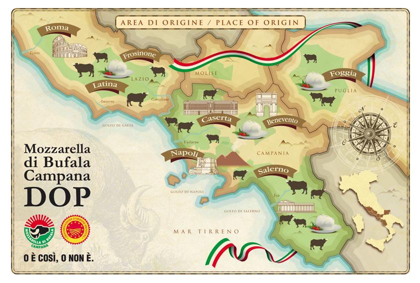 vendita ingrosso mozzarella bufala